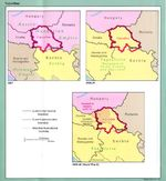 Vojvodina Historical Borders Map  1867 - 1992