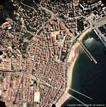 Satellite Image, Photo, Rosas, Spain