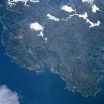 Satellite Image, Photo, Area y City of Coruña, Spain