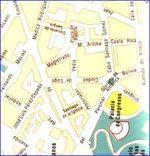 Mapa Político Pequeña Escala de Trinidad y Tobago