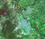 Satellite Image, Photo of El Salvador