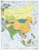 Asia Political Map 2008