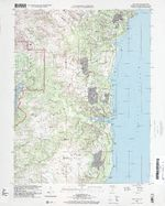 Talofofo Area Topographic Map