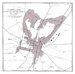 Bloemfontein and Vicinity Map, South Africa 1954