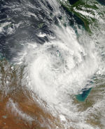 Storm over northern Australia