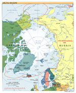 Arctic political map 2007