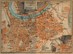 Nearer Environs of Grenoble Map, France 1914