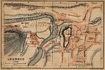 Waterloo City Map, Iowa, United States 1919