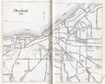 Cleveland City Map, Ohio, United States 1917