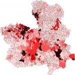Población de Castilla-La Mancha 2008