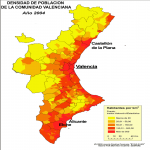 Population in Valencian Community 2009