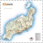 Fuerteventura Island road map