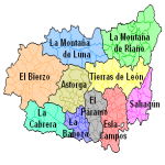 Comarcas of the province of León 2006