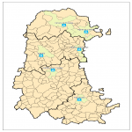 Campsites in the province of Palencia 2007