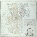 Province of Segovia map 1773