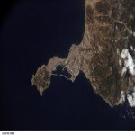 Photo, satellite image of Ceuta 2007