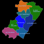 Comarcas of the Province of Castellón