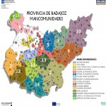 Mancomunidades of the Province of Badajoz 2010