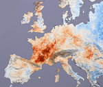 Ola de Calor en Europa Julio 2003