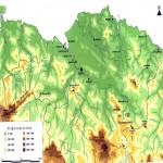 Topographic map of Biscay
