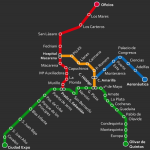 Seville subway projected for 2017