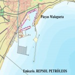 Málaga port map