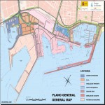 Alicante port map 2008