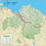 Mapa Departamento de Cortés, Honduras