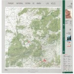 Bluestone National Scenic River Park Map, West Virginia, United States