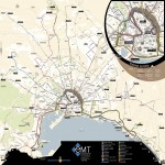 Palma de Mallorca bus routes map 2008
