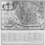 Map of Valencia 1738