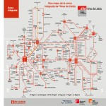 Lleida integrated public transport
