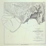 Map of the Port of Tarragona 1876