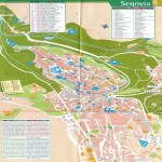 Segovia tourist map