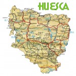 Province of Huesca road map