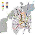 Bus and tram network of Vitoria-Gasteiz 2010