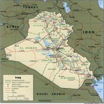 Iraq Political Map 1999