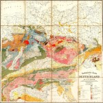 Geological map of Germany 1869