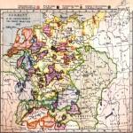 Mapa de Magdeburgo, Alemania 1910