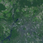 Satellite view of Berlin 2005