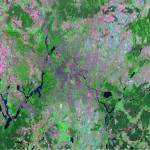 Satellite view of Berlin