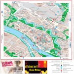 Bremen tourist map 2007