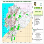 Mapa de Bosques y vegetacin protectores del Ecuador 2004