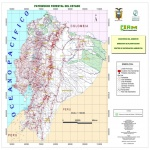 Mapa de Patrimonio forestal del Estado Ecuatoriano 2004