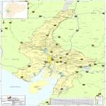 Mapa del Guayas 2010
