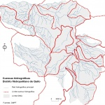 Watersheds of the Metropolitan District of Quito