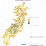 Habitat density per hectare in Quito 1982