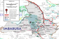 Imbabura road map