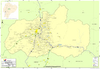 Map of Tungurahua 2010