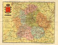 Map of the Province of Cuenca 1906
